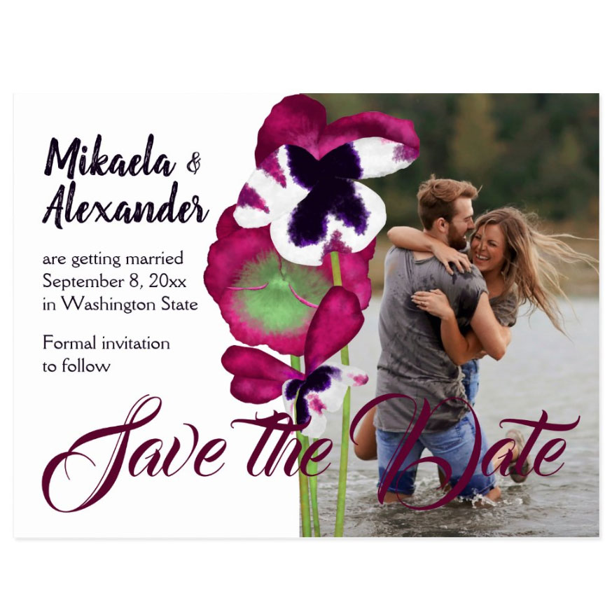 wedding save the date ideas